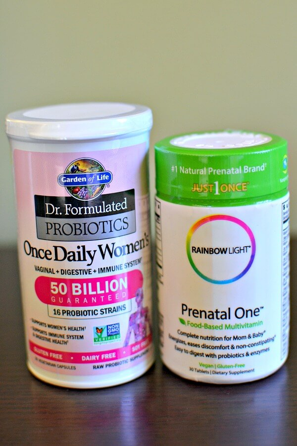 probiotic and prenatal vitamin