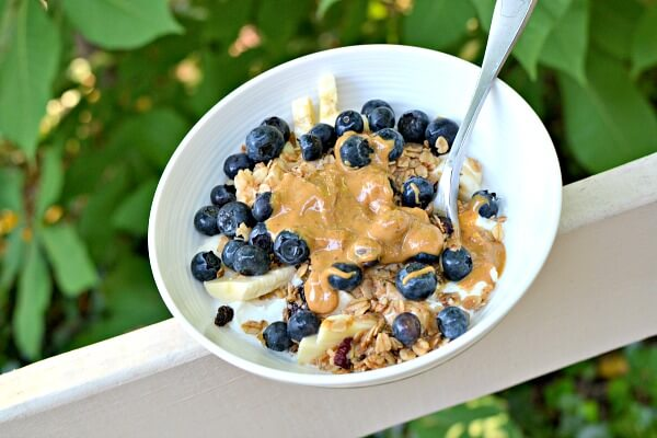 greek yogurt bowl
