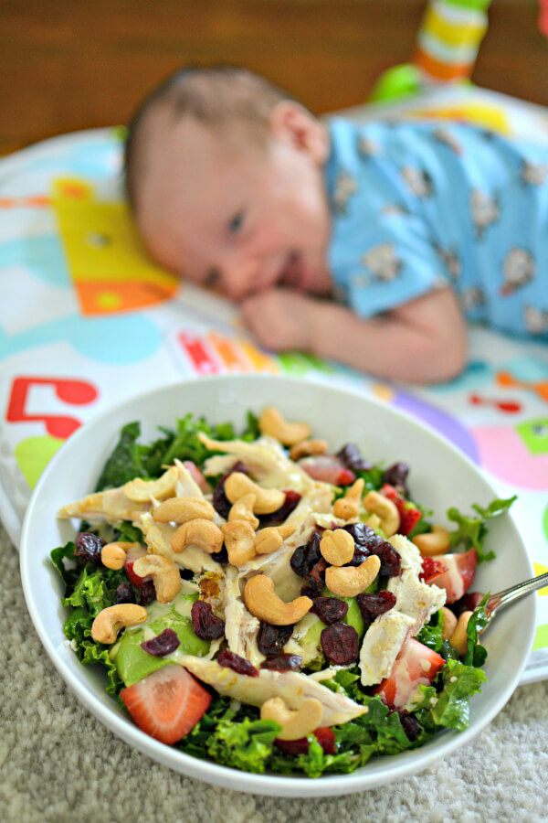 Eating with a Newborn
