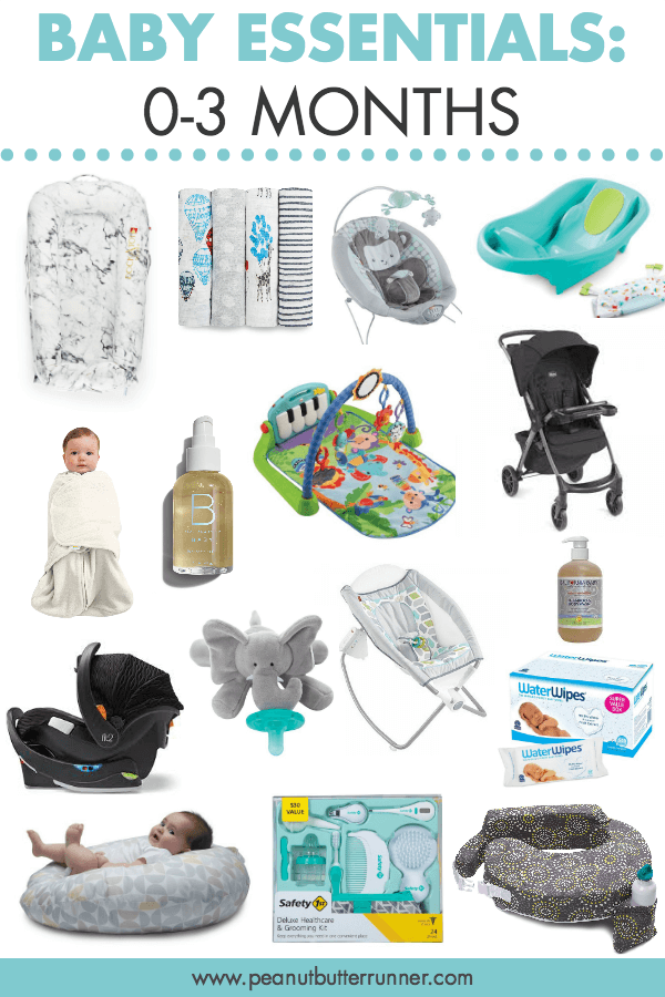 Baby Essentials 0-3 Months