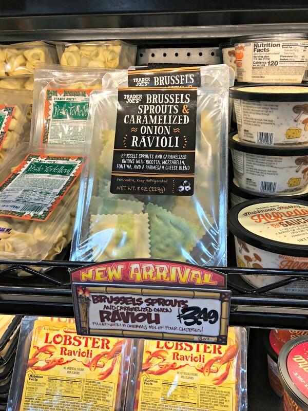 Trader Joe's Brussels Sprouts Ravioli