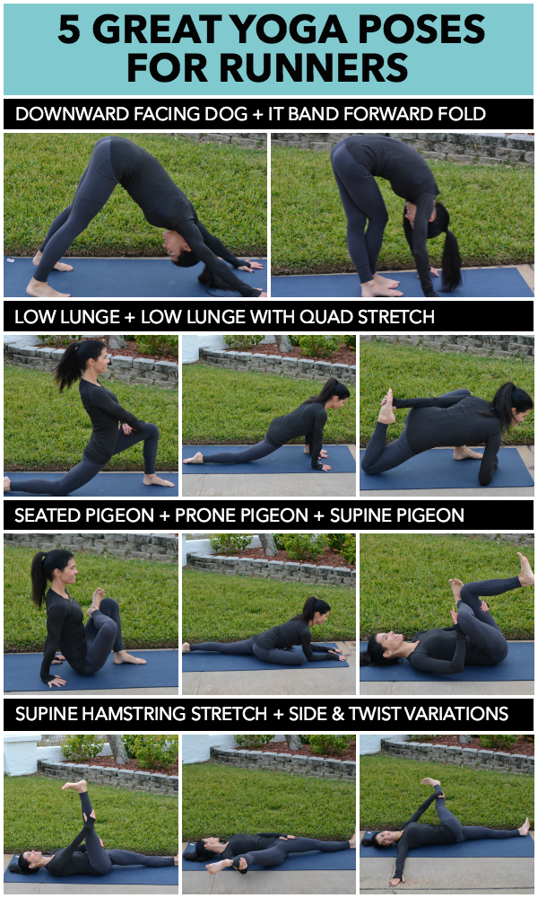 5 Great Yoga Poses for Runners