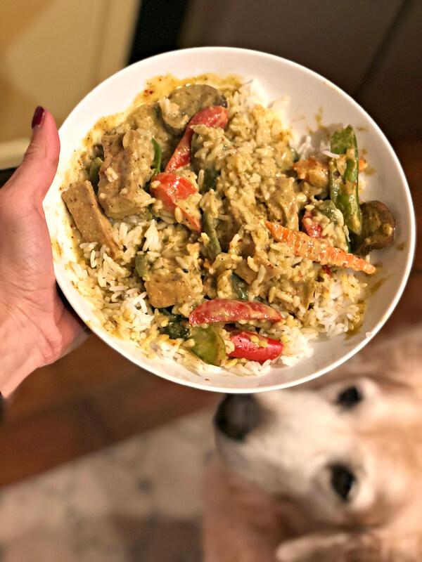 deejai thai green curry
