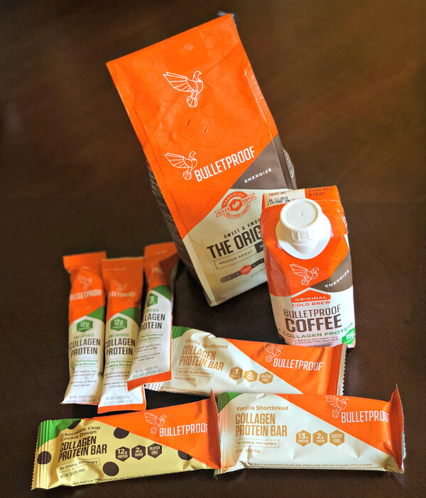 Bulletproof Collagen Protein Products