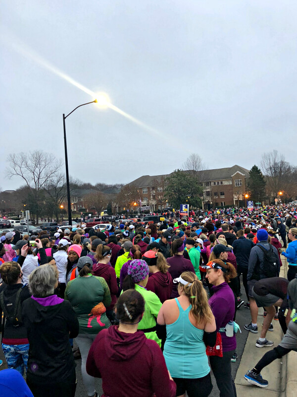 Hot Chocolate 15K Charlotte