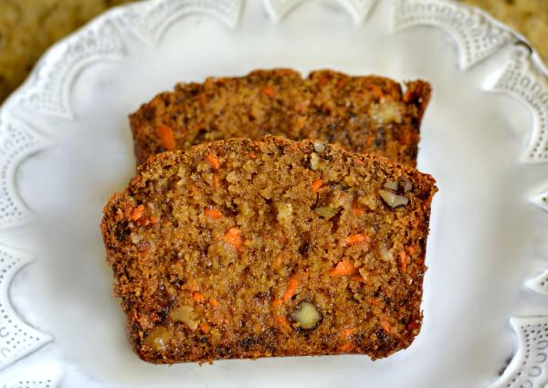 Carrot Maple Oat Banana Bread