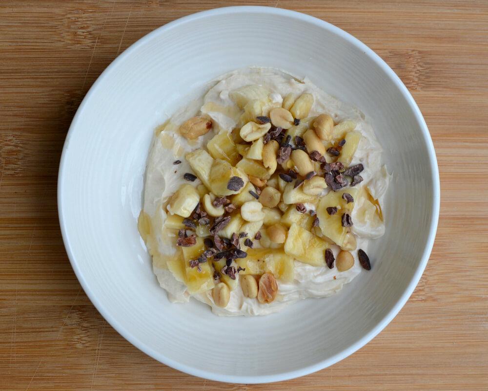 Peanut Butter Greek Yogurt Bowl