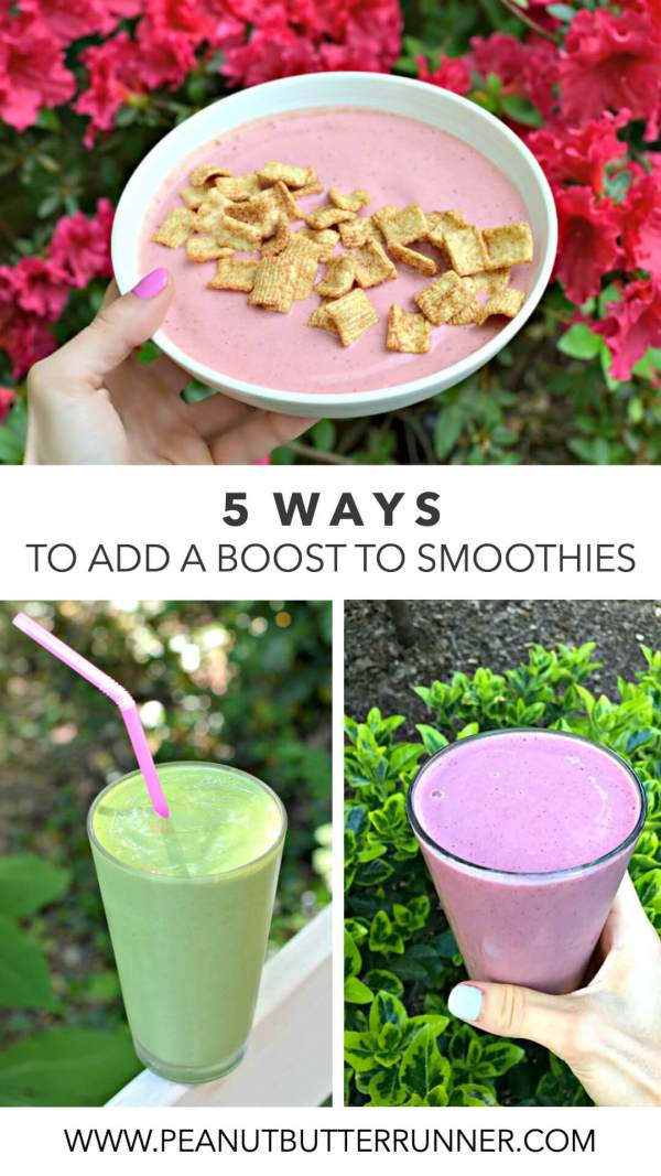 5 Ways to Add a Boost to Your Smoothies