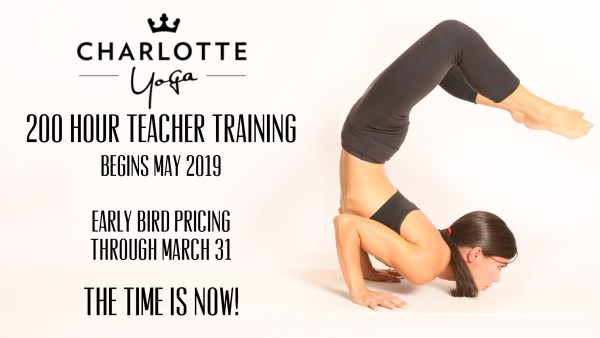 Charlotte Yoga 200-Hour Yoga Teacher Training