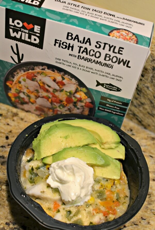 love the wild Baja style fish taco bowl