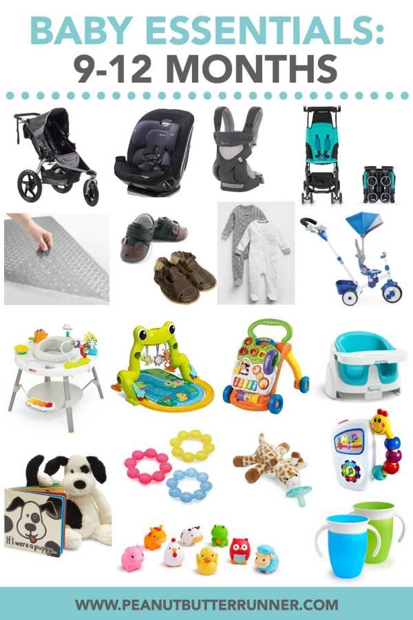 9-12 Month Baby Essentials