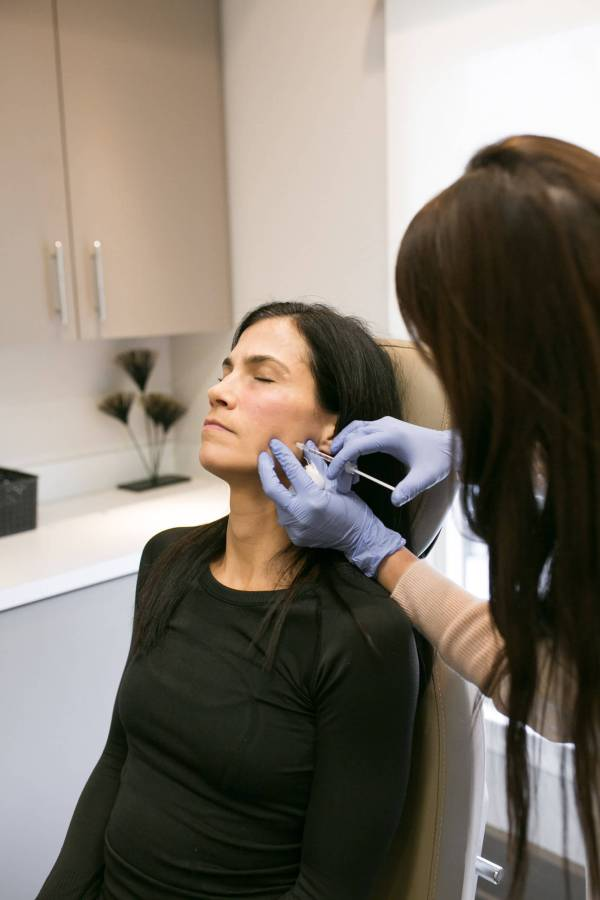 injections for jaw clenching Carolina facial plastics
