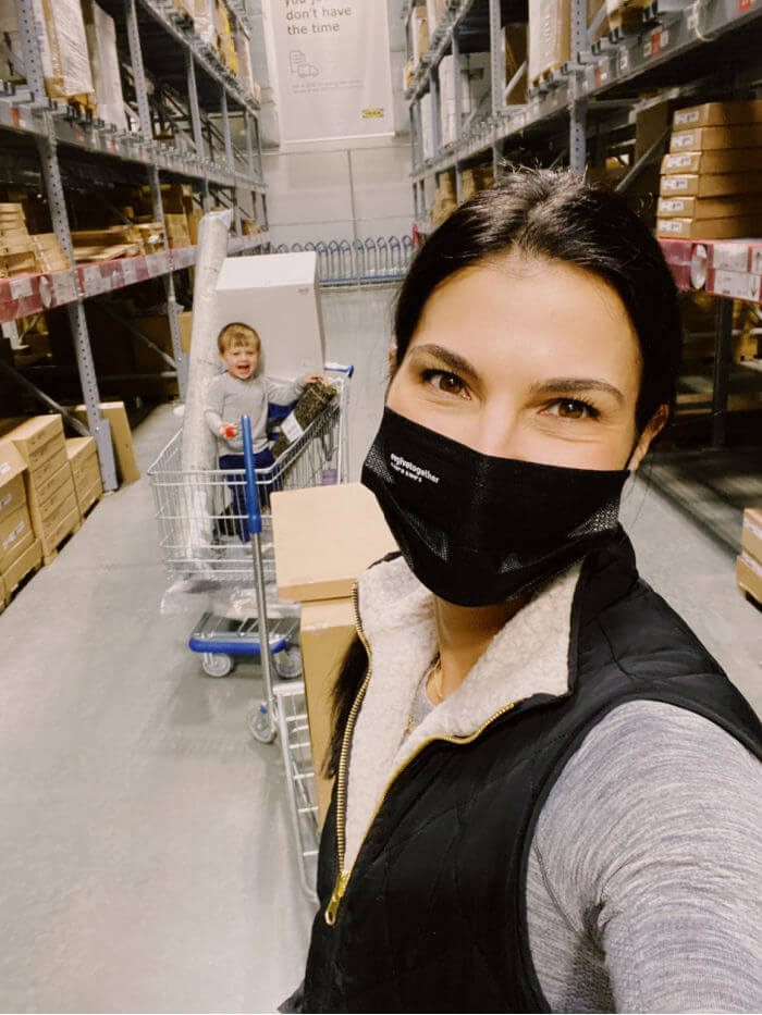 ikea with a toddler