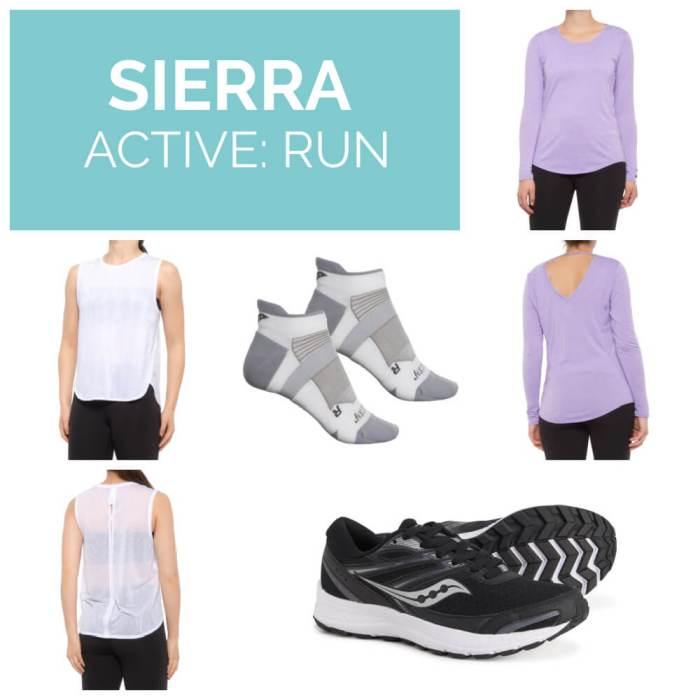 Sierra active run clothing