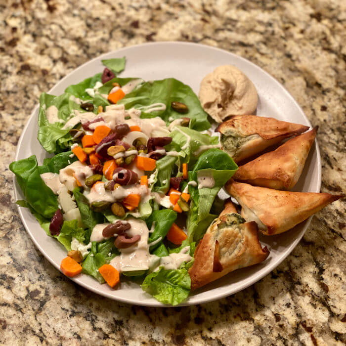 Whole Foods frozen spanakopita