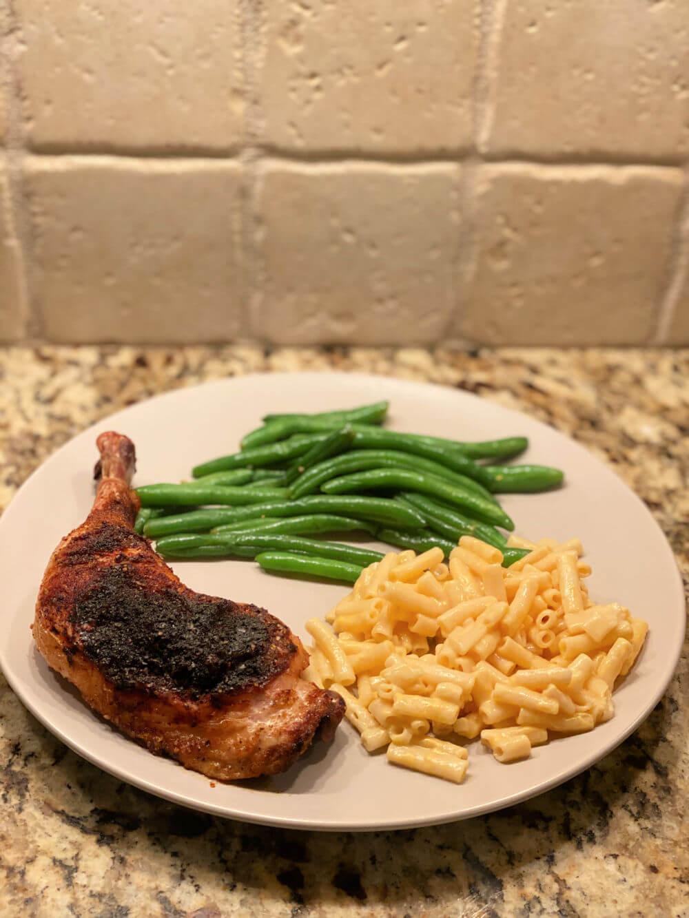 air fried chicken leg/thigh