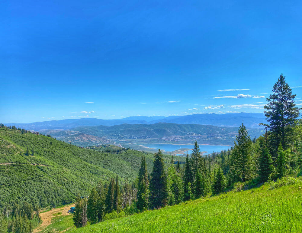 Jordanelle Reservoir Silver Lake Hike