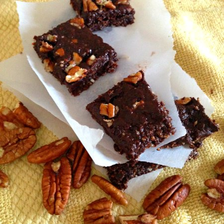 Pecan Coconut Brownies