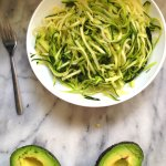 Avocado Lazy Noodles