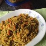 Poha (Flat Rice) Stir Fry