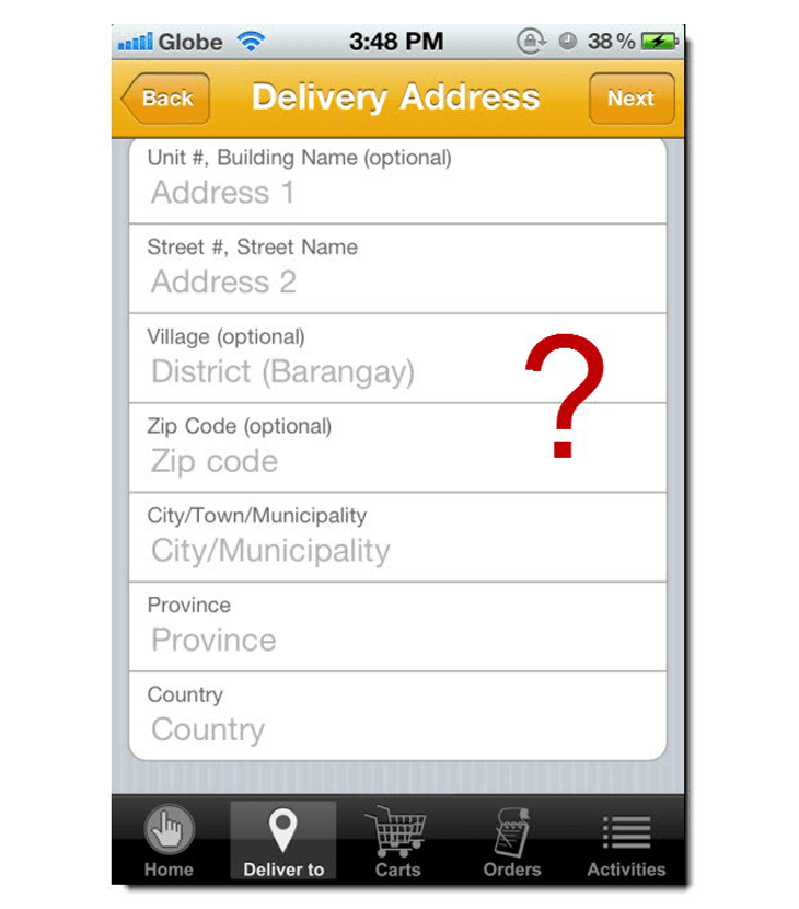 Click the City Mobile Ordering