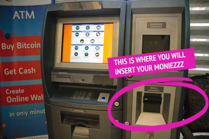 Insert Money Here Bitcoin ATM