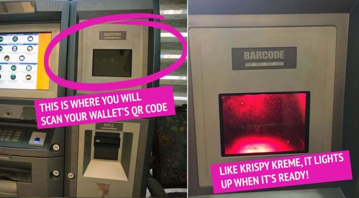 Scan QR Code Bitcoin ATM