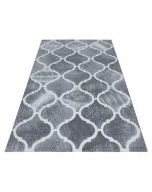 moderne de salon tapis poils ras marocain design