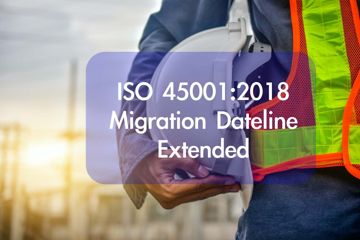 iso 45001:2018 transition