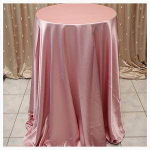 Pink Satin tablecloths