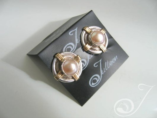 Clip On Nadja Pink Earrings