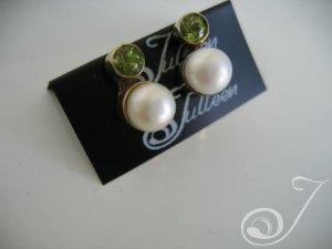 Laura Peridot Earrings
