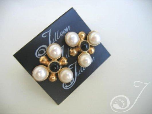 Maja Black Onyx Earrings