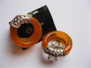 Amber Earrings Clip