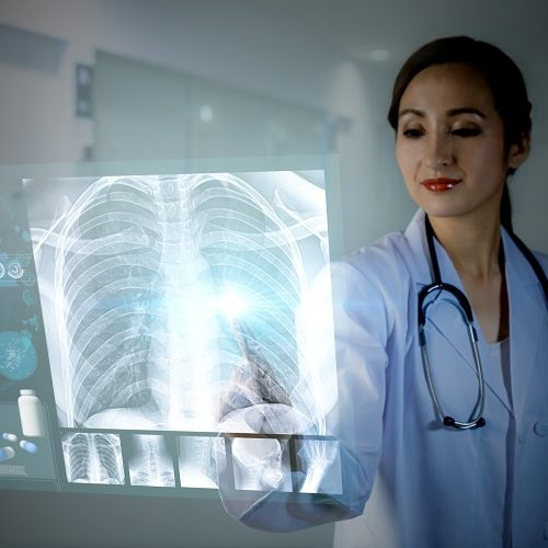 Medical applications include diagnostic and imaging equipment, and patient monitoring devices.