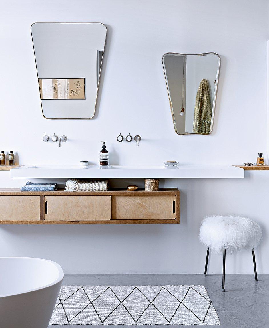 meuble de salle de bain style scandinave