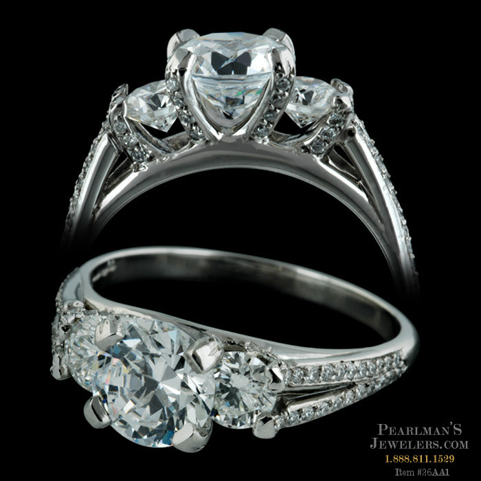 Bridget Durnell Jewelry Tradition Collection Three Stone