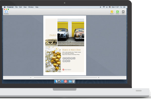 an easy and quick poster maker on mac