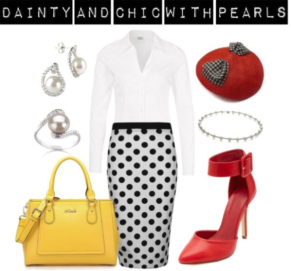 Dainty and Chic in Pearls