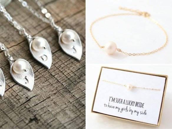 Pearl wedding presents