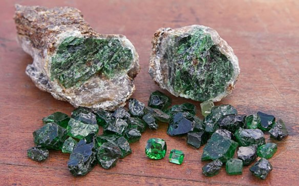 rough gem stone