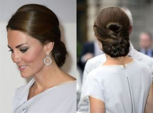 romantic hair updo