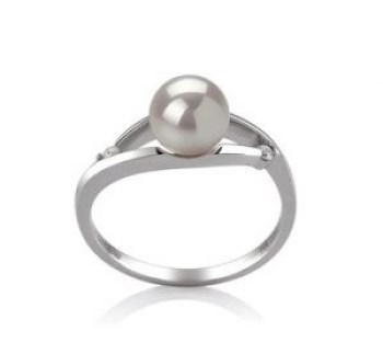 akoya pearls ring