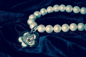 coordinate your pearl bracelet