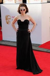 Helena Boham Wears Pearls