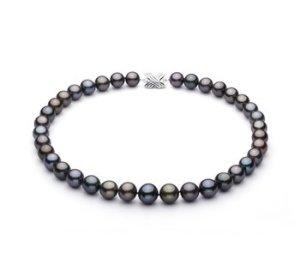 tahitian black pearl necklace