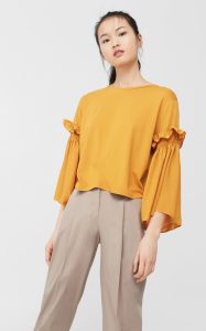 yellow blouse 2