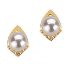 akoya pearl earrings with diamonds