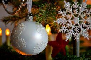 christmas tree globe decoration