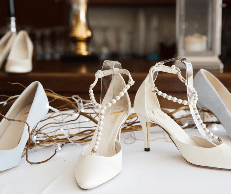 Beautiful Pearl Wedding Shoes & 7 Tips On How To Pick The ...